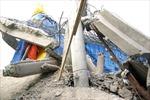 Sập Đài Quan âm Bồ tát đang xây dở