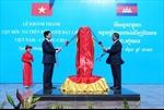 Khánh thành cột mốc cuối cùng trên tuyến biên giới đất liền Việt Nam - Campuchia