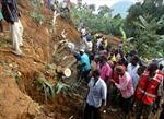 Lở đất chôn vùi 2 ngôi làng ở Uganđa