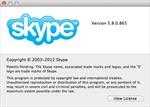 Skype 5.8 cho Mac thêm tính năng giống trên Windows