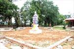 Đề nghị làm rõ vụ sập đài che tượng Quan âm trong chùa