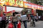 Tháng Khuyến mại Hà Nội: Quản lý chặt các 'điểm Vàng' nhái