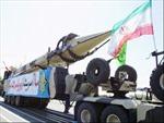 Iran bắn thử tên lửa đạn đạo Shahab-3