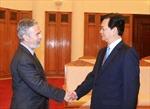 Thủ tướng Nguyễn Tấn Dũng tiếp Bộ trưởng Ngoại giao Braxin