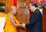 Phó Thủ tướng Nguyễn Xuân Phúc tiếp Vua sư Vương quốc Campuchia