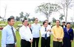 Đồng chí Lê Hồng Anh kết thúc tốt đẹp chuyến thăm Lào