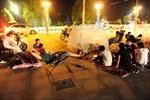 Động đất, người dân Trung Quốc đổ ra đường