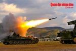 Bộ đội tên lửa tập trận bắn đạn thật