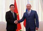 Truyền hình Nga đánh giá cao kết quả hội đàm cấp cao Nga/Việt