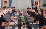 Chủ tịch Nước Trương Tấn Sang hội kiến Quyền Chủ tịch Đuma Quốc gia Nga