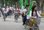 Khởi động hành trình đạp xe hữu nghị thanh niên Việt - Lào