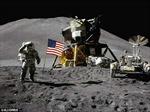5 lá cờ Mỹ vẫn bay trên Mặt trăng sau 40 năm