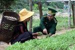 Giúp dân vùng biên giới ổn định cuộc sống
