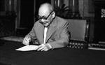 Chùm ảnh tư liệu về đồng chí Võ Chí Công