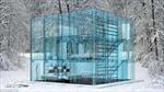 Độc đáo ngôi nhà làm từ kính