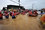 Thủ đô của Philippines biến thành biển nước