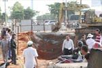 Sập hố công trình, 3 công nhân tử nạn