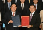 Trung Quốc đại lục và Đài Loan ký hiệp định bảo hộ đầu tư