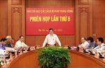 Ban Chỉ đạo cải cách tư pháp Trung ương họp phiên thứ 6