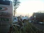 Tai nạn liên hoàn, hơn 100 người thương vong
