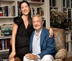 Tỷ phú Soros sắp lấy vợ bằng nửa tuổi