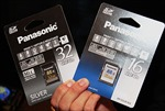 Panasonic giới thiệu thẻ nhớ SDHC siêu bền