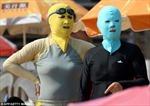 Ngắm 'người ngoài hành tinh' trên bãi biển Trung Quốc