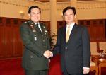 Thủ tướng Nguyễn Tấn Dũng tiếp Tư lệnh lực lượng Quốc phòng Thái Lan