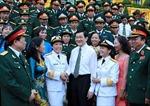 Chủ tịch nước gặp đại biểu làm kinh tế gia đình giỏi