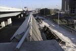 Sập cầu dài nhất miền bắc Trung Quốc, 3 người chết