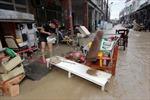 Tan hoang Đài Loan sau bão Tembin