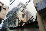Cháy cửa hàng xe máy, 2 người tử vong