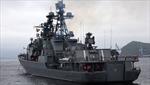 Tàu chiến Nga ghé cảng Nhật Bản