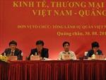 Thúc đẩy hợp tác kinh tế giữa Việt Nam và Quảng Đông