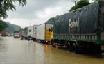 QL1A ngập sâu, ô tô xếp hàng dài 5km