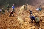 Gian nan tìm kiếm 2 nạn nhân sạt lở núi ở Yên Bái