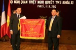 Đoàn công tác của Ban Bí thư TW Đảng làm việc tại Pháp