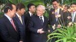 Tổng Bí thư đặt tên cho một loài lan ở Singapore