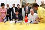 Việt Nam và Cuba cam kết tăng cường hợp tác