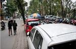 Vẫn xây bãi đỗ xe trong công viên Thống Nhất