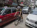 Hong Kong không có chỗ cho xe đạp