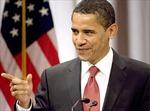 Tỷ lệ ủng hộ ông  B.Obama lần đầu tiên quá bán