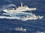 Nhật Bản dùng vòi rồng đuổi tàu Đài Loan