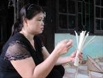 Cơm lam - món ăn truyền thống của người Mường Động