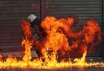 Athens rực lửa biểu tình