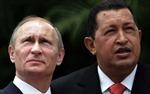 Putin tặng cún con cho Hugo Chavez