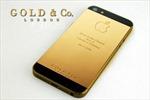 iPhone 5 mạ vàng 24 carat giá 4.600 USD