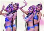 Người đẹp Trung Quốc thi bikini phong cách Kinh Kịch