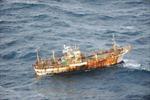 Cứu sống 5 thuyền viên tàu Đài Loan bị cháy