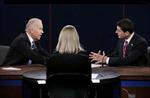 Bầu cử Mỹ: Hai phó tướng tranh luận nảy lửa